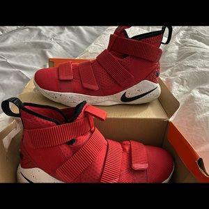 Men Red Lebron James Sneakers